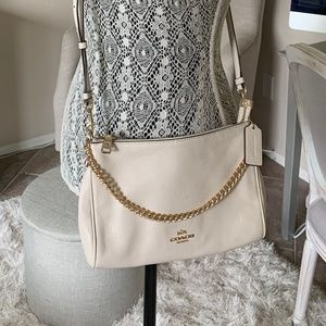 Coach cross over purse - Cream/beige